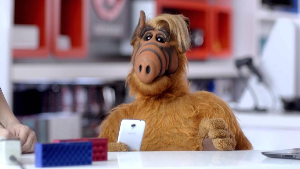 Quand Alf regarde une emission de cuisine